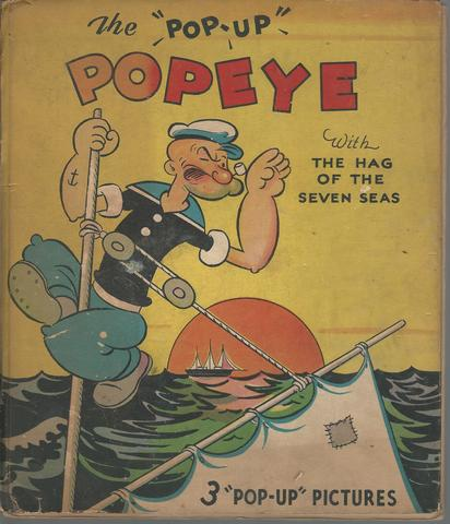 "The ""Pop-up"" Popeye With the Hag of the Seven Seas, E. C. Segar"