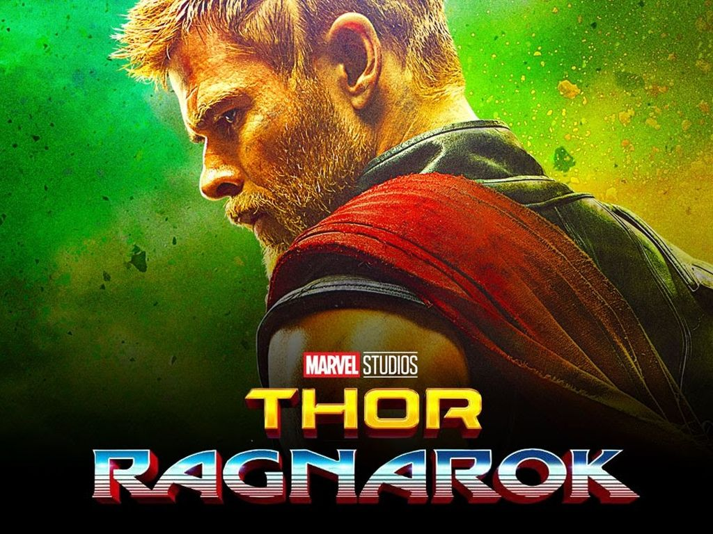 Thor: Ragnarök Quad Poster Πόστερ