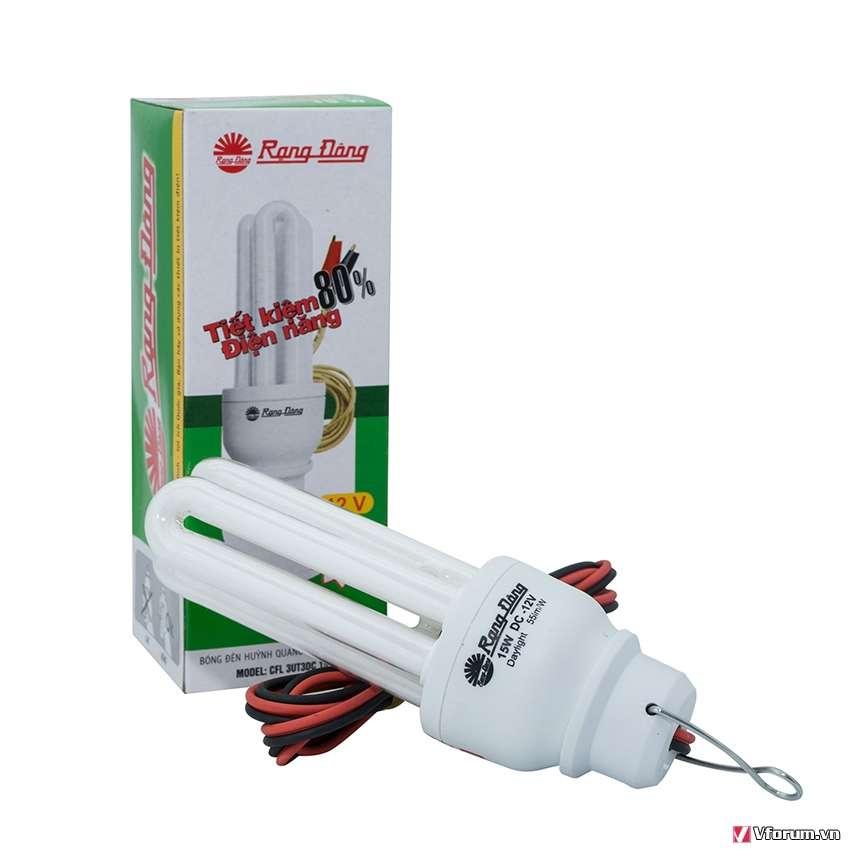 Bóng đèn Compact 12V CFL 3UT3DC 15W