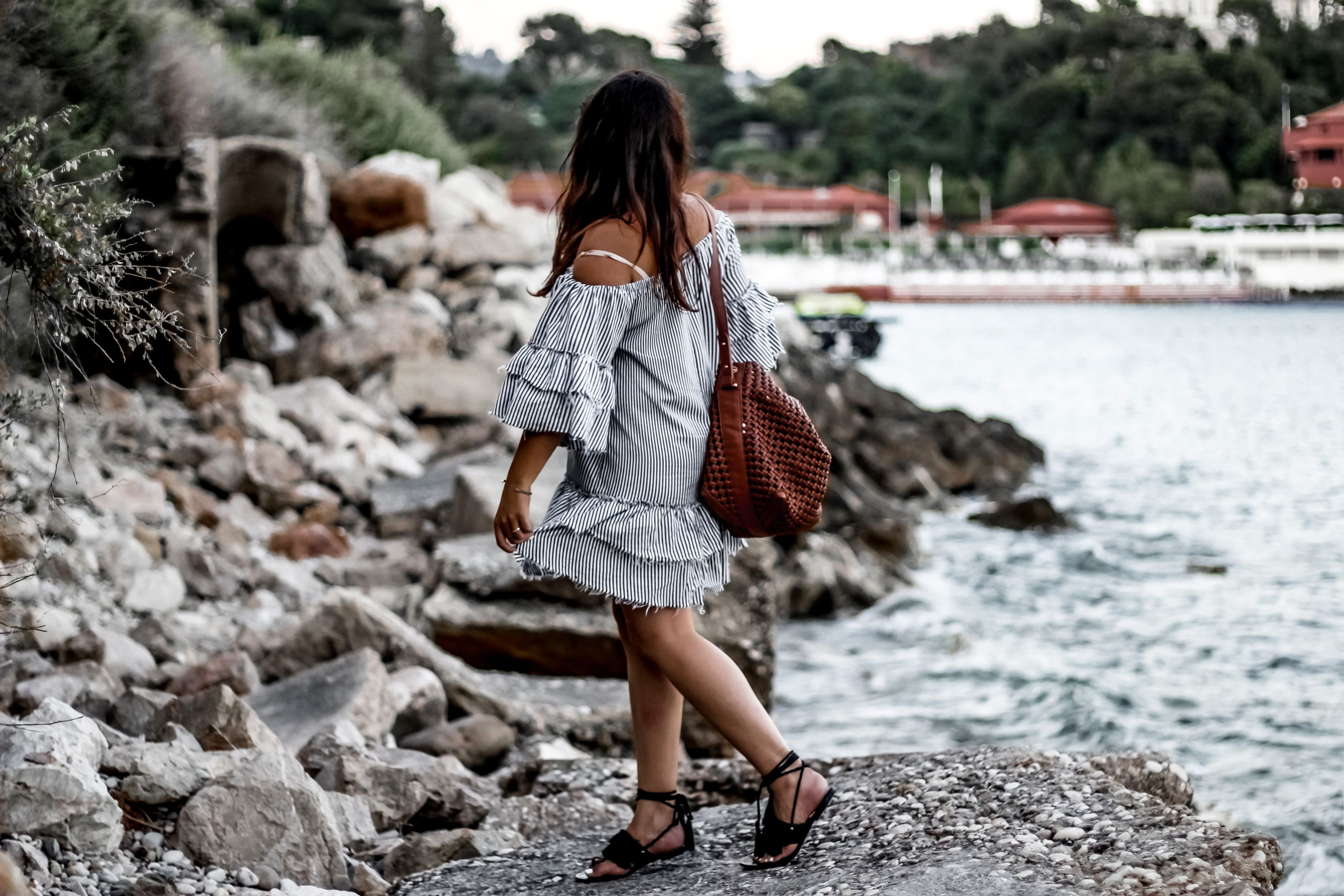 robe zara, zara, blog mode, blogueuse mode, robe bardot, robe off shoulder, monaco, monte carlo, off shoulder, monte carlo bay & hotel resort