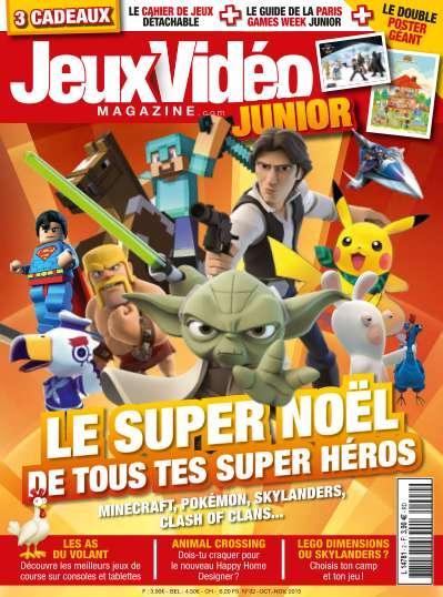 Jeux Vidéo Magazine Junior - Octobre/Novembre 2015