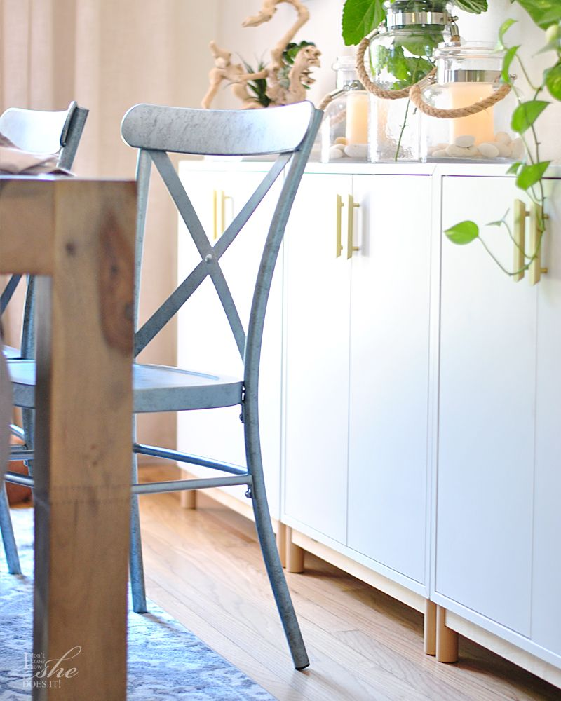 Metal Farmhouse inspired chairs