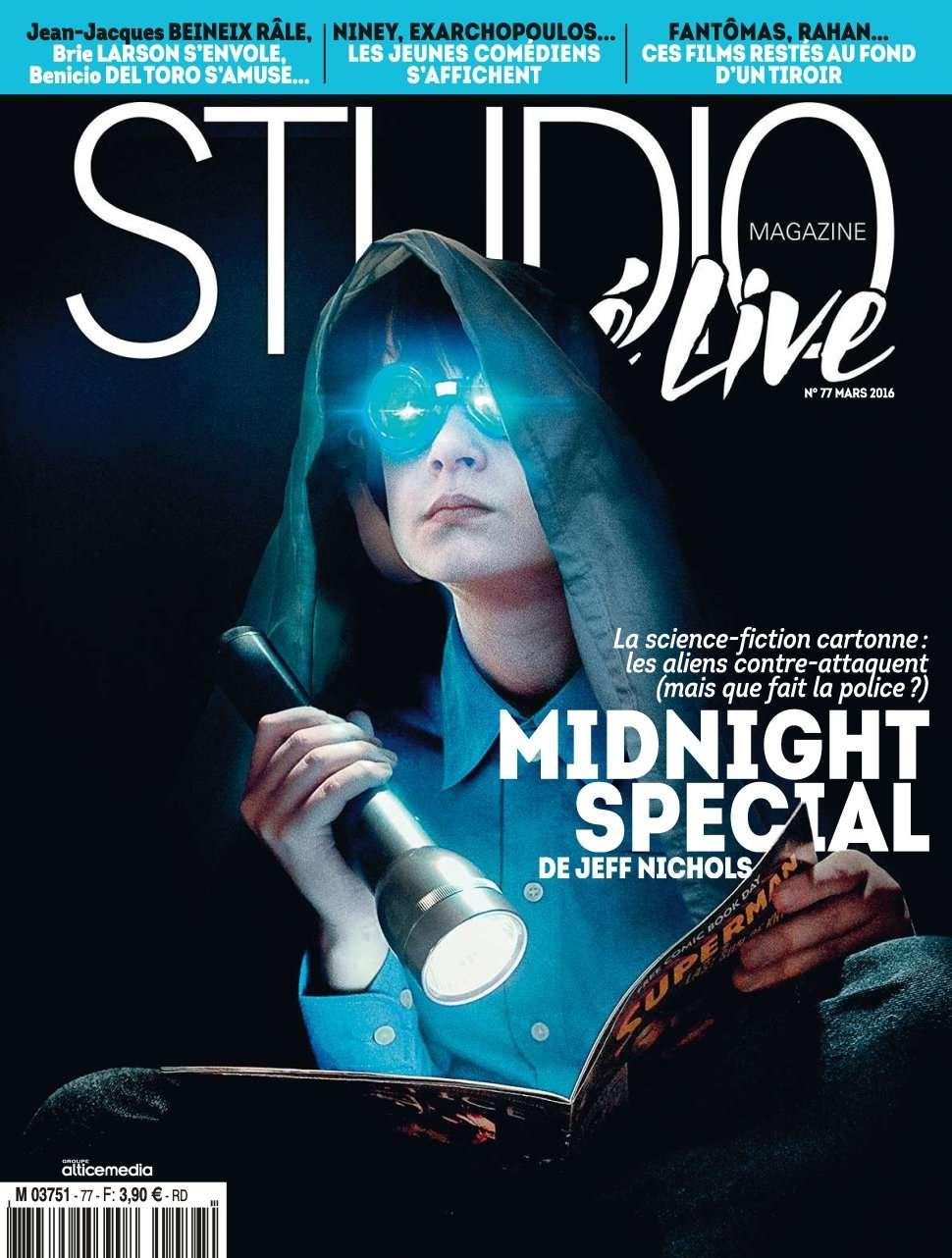 Studio Ciné Live 77 - Mars 2016