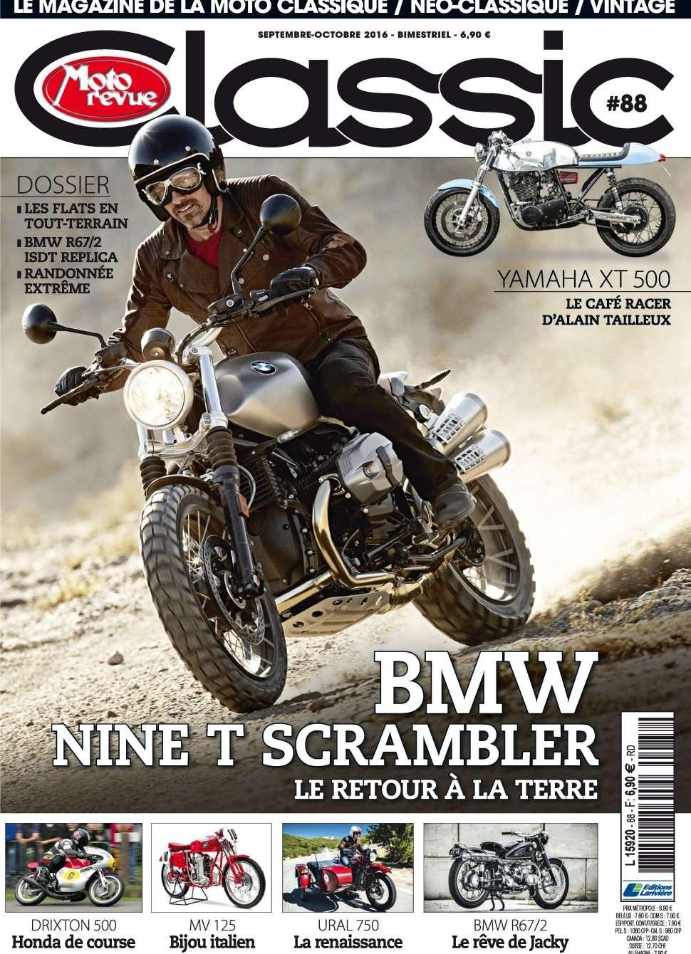 Moto Revue Classic 88 - Septembre/Octobre 2016