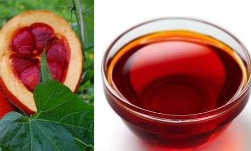 Hướng dẫn cách chữa thâm môi bằng dầu gấc tại nhà