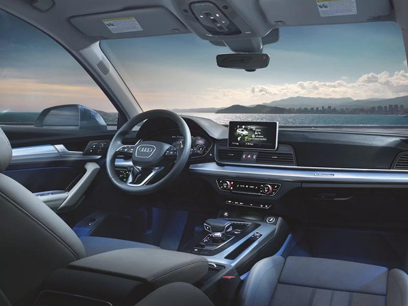 2018 Audi Q5 Interior Ambient Lighting