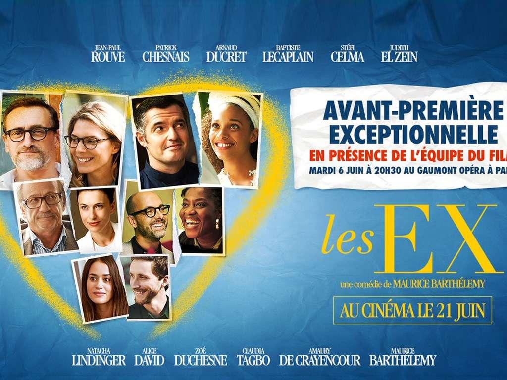 Οι πρώην (Les ex) Quad Poster Πόστερ