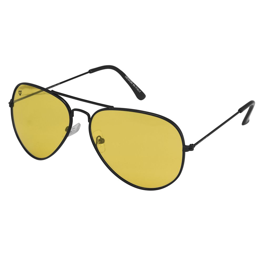 Walrus Aristrocrat Yellow Color Unisex Aviator Sunglass - WS-AST-080202