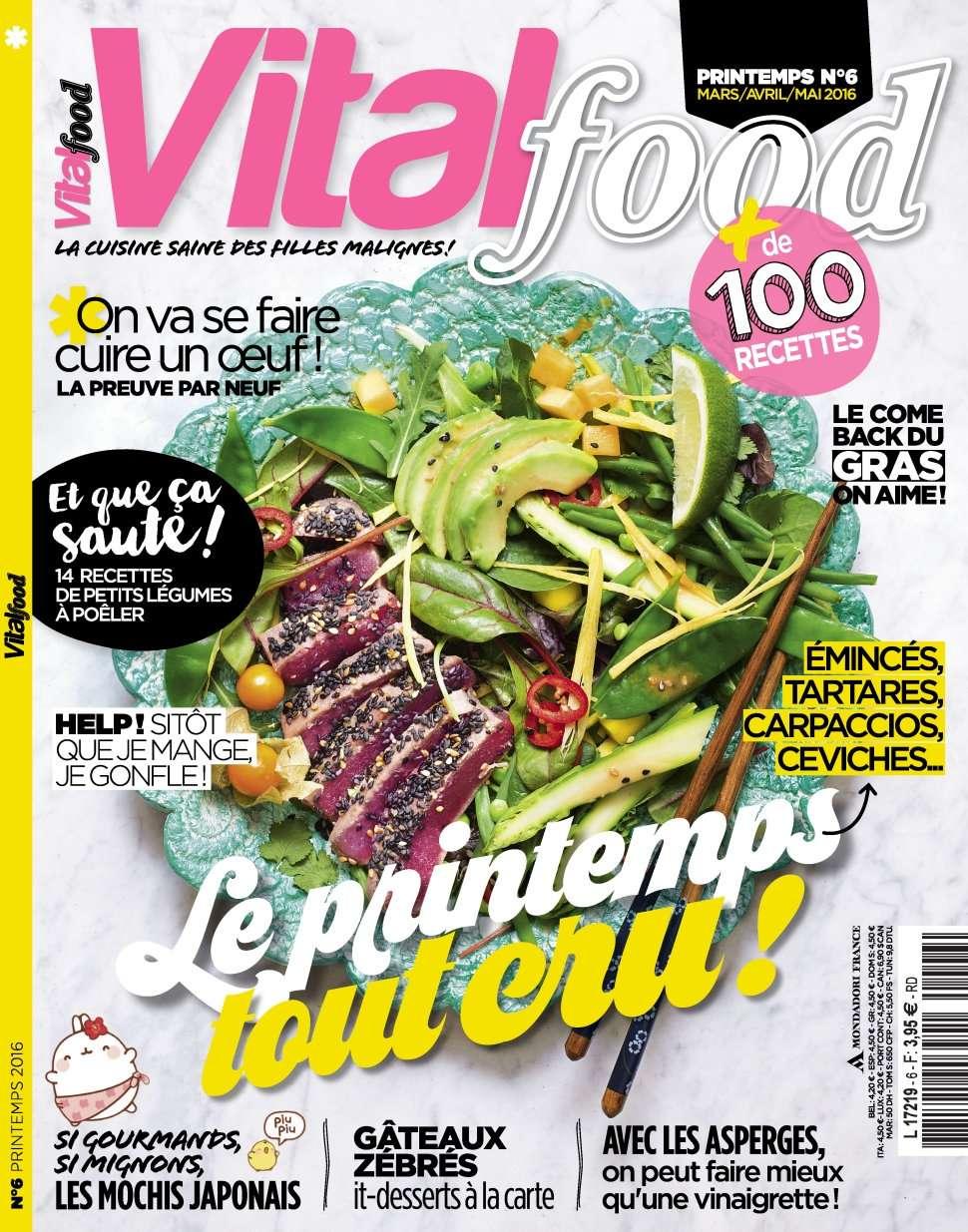 Vital Food 6 - Printemps 2016