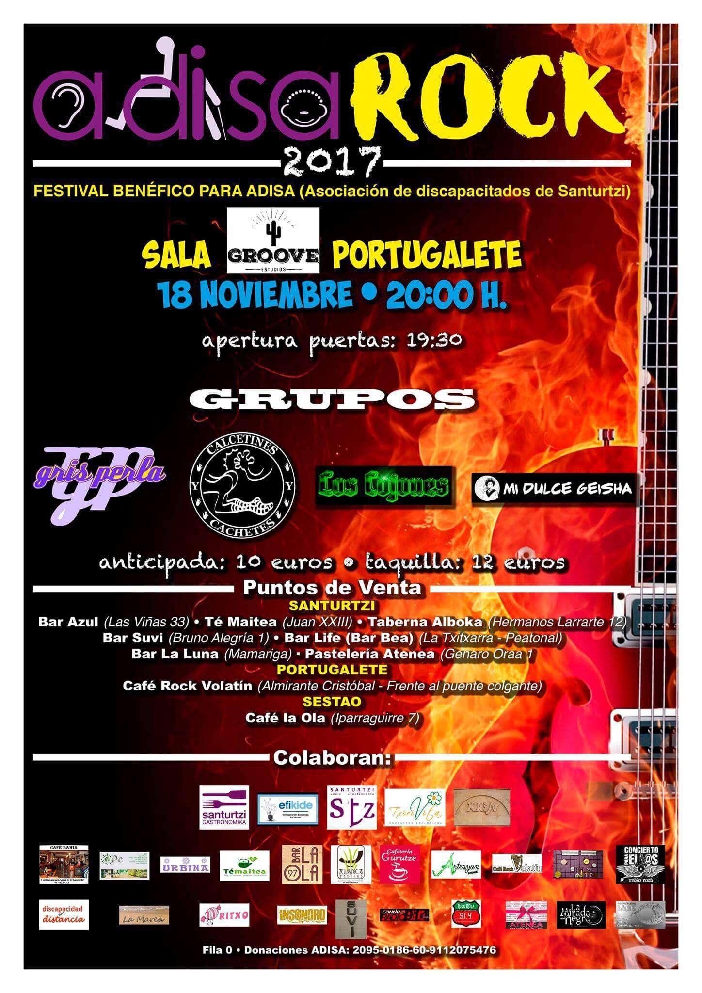 Adisarock 2017 - Sala Groove