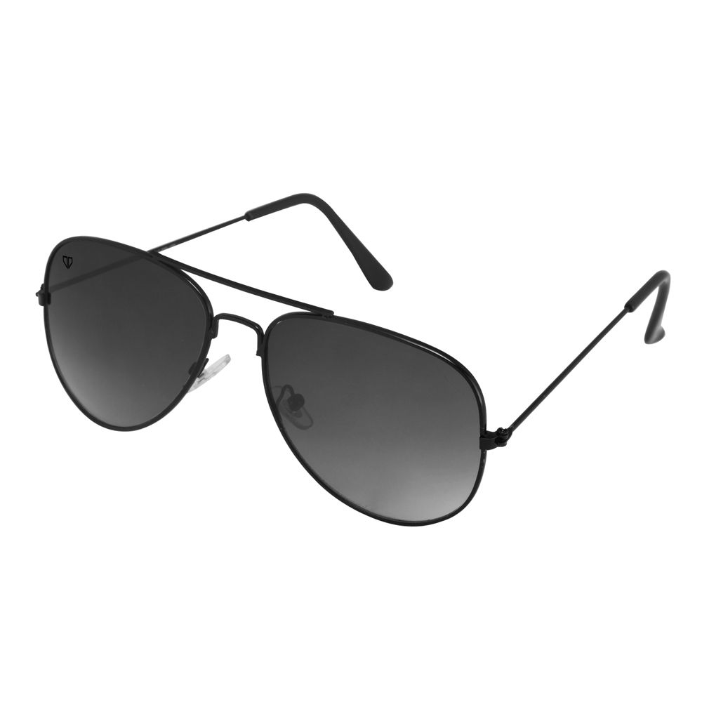 Walrus John Black Color Unisex Aviator Sunglass - WS-JOHN-020202