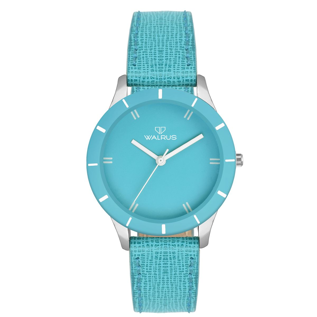 Walrus Eve Cyan Color Analog Women Watch -WWW-Eve -131307
