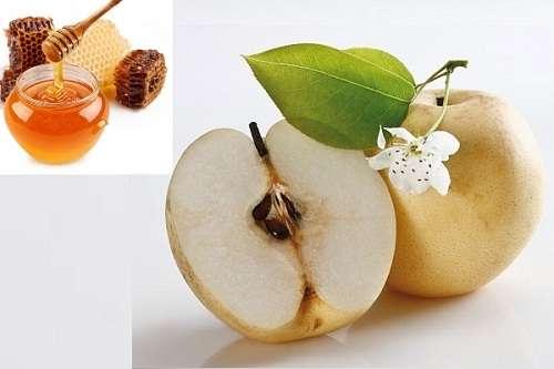 Phương pháp làm mịn da từ trái lê
