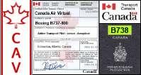 B738 Certified