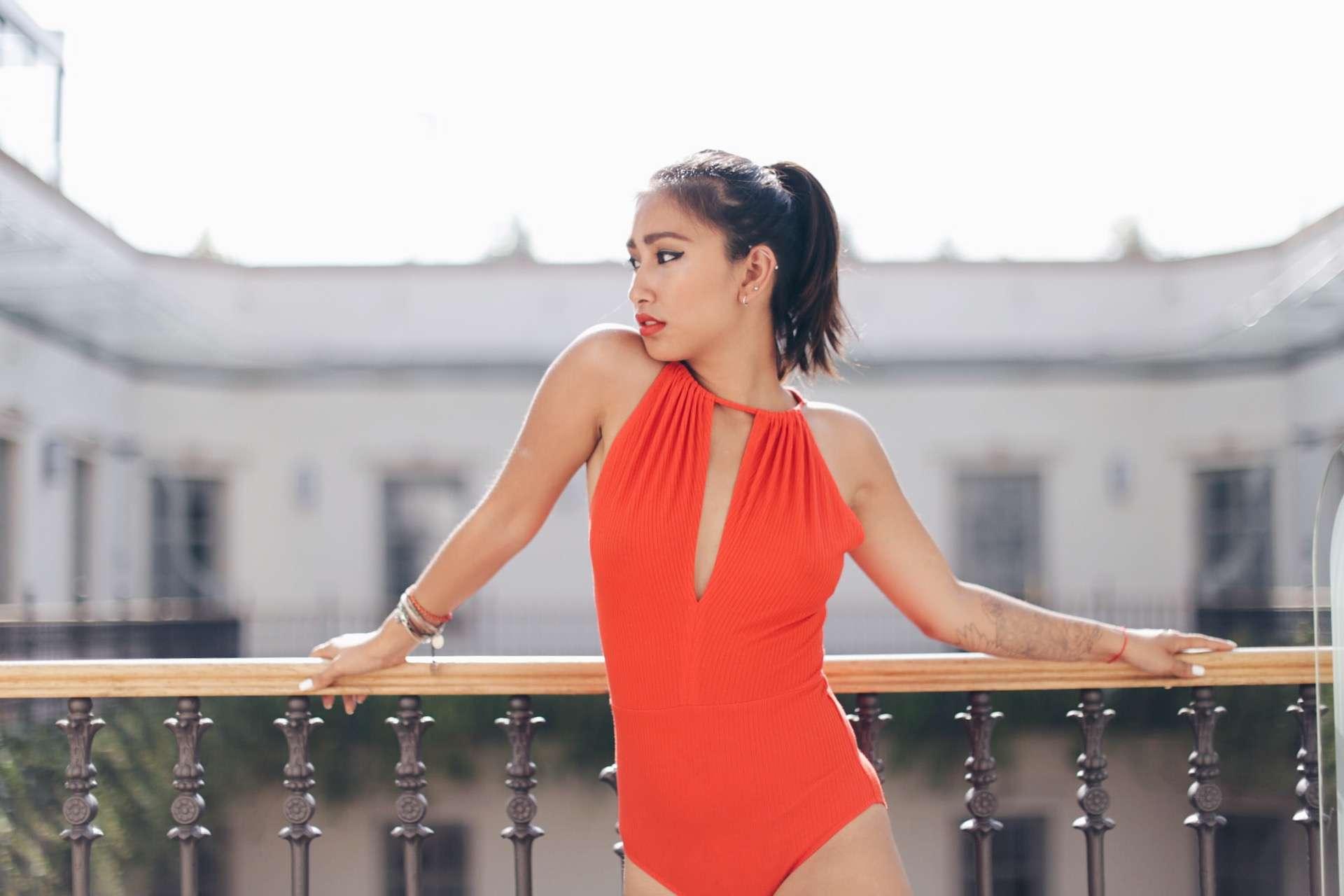 body orange h&m blog mode