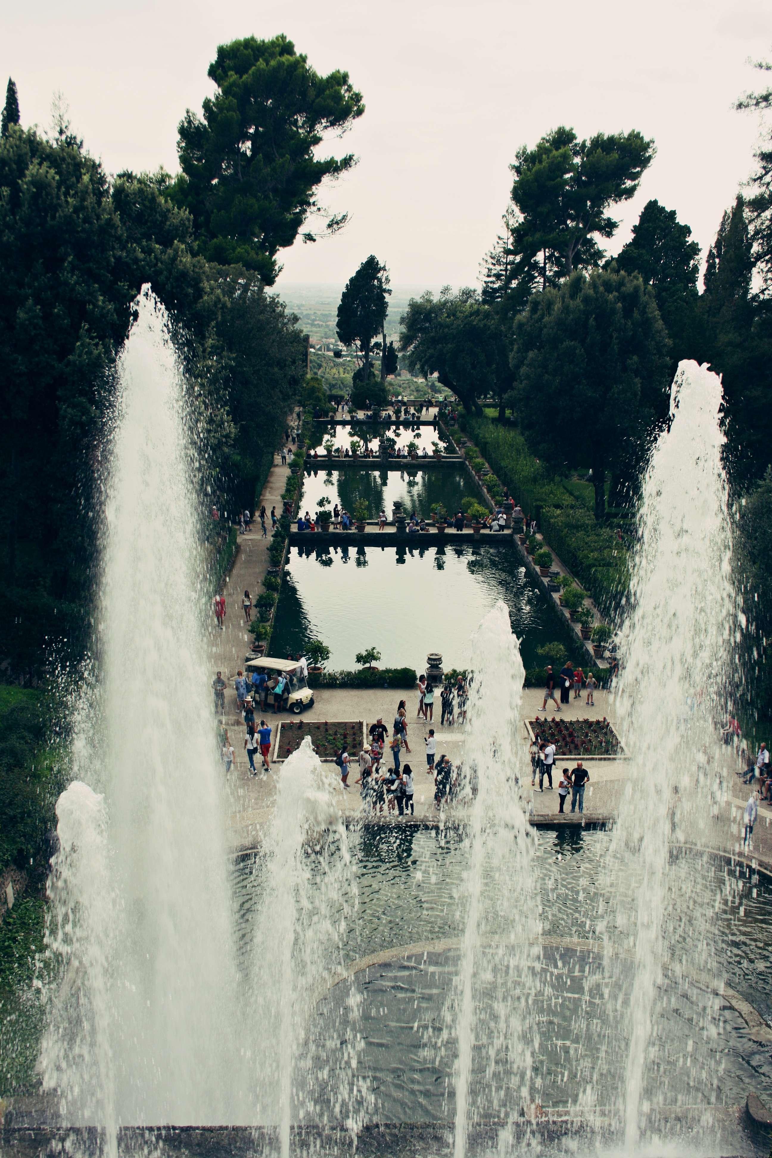 Magiczne ogrody w Tivoli