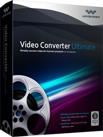 Wondershare Video Converter Ultimate 9.0.4.0 + Crack
