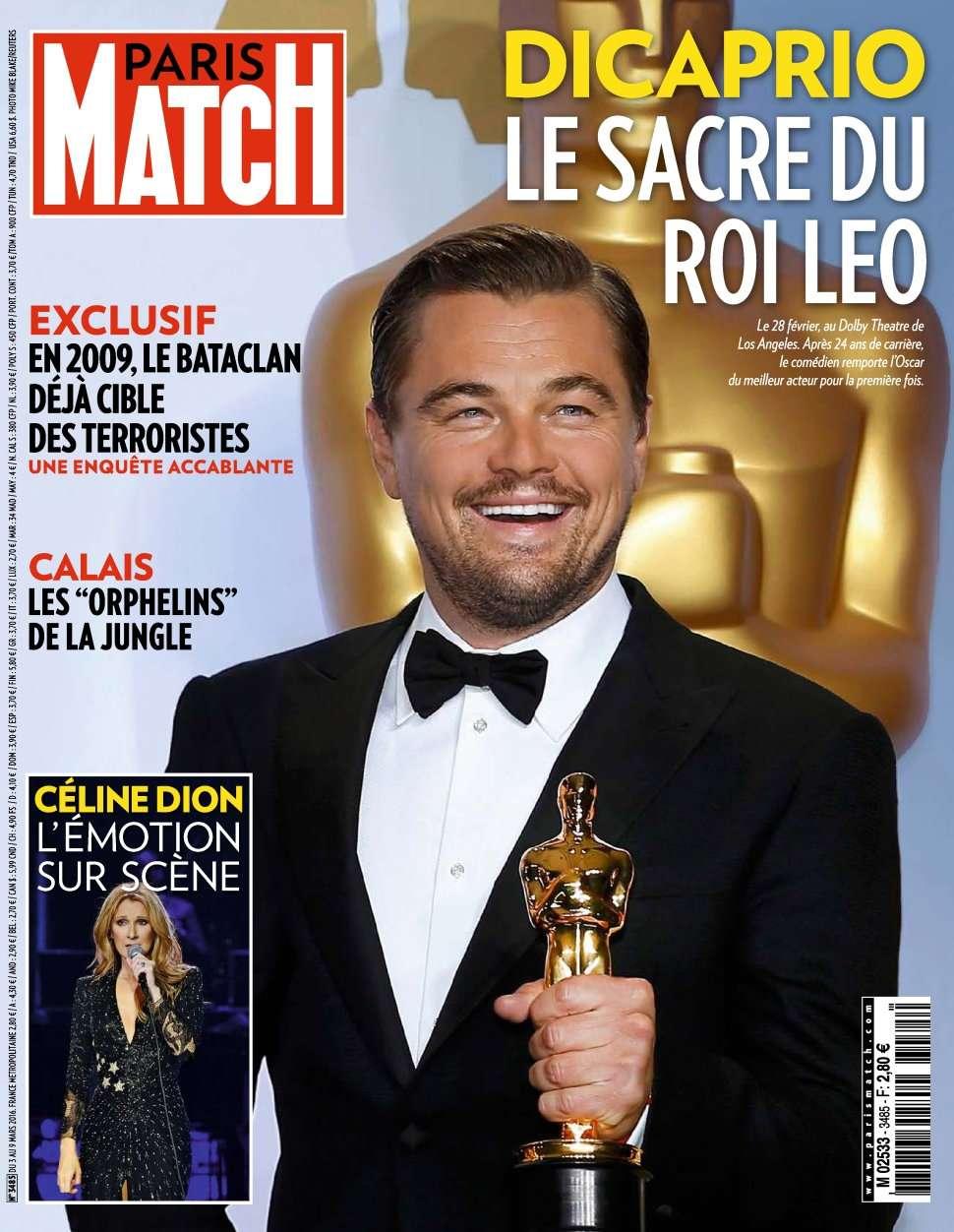 Paris Match 3485 - 3 au 9 Mars 2016