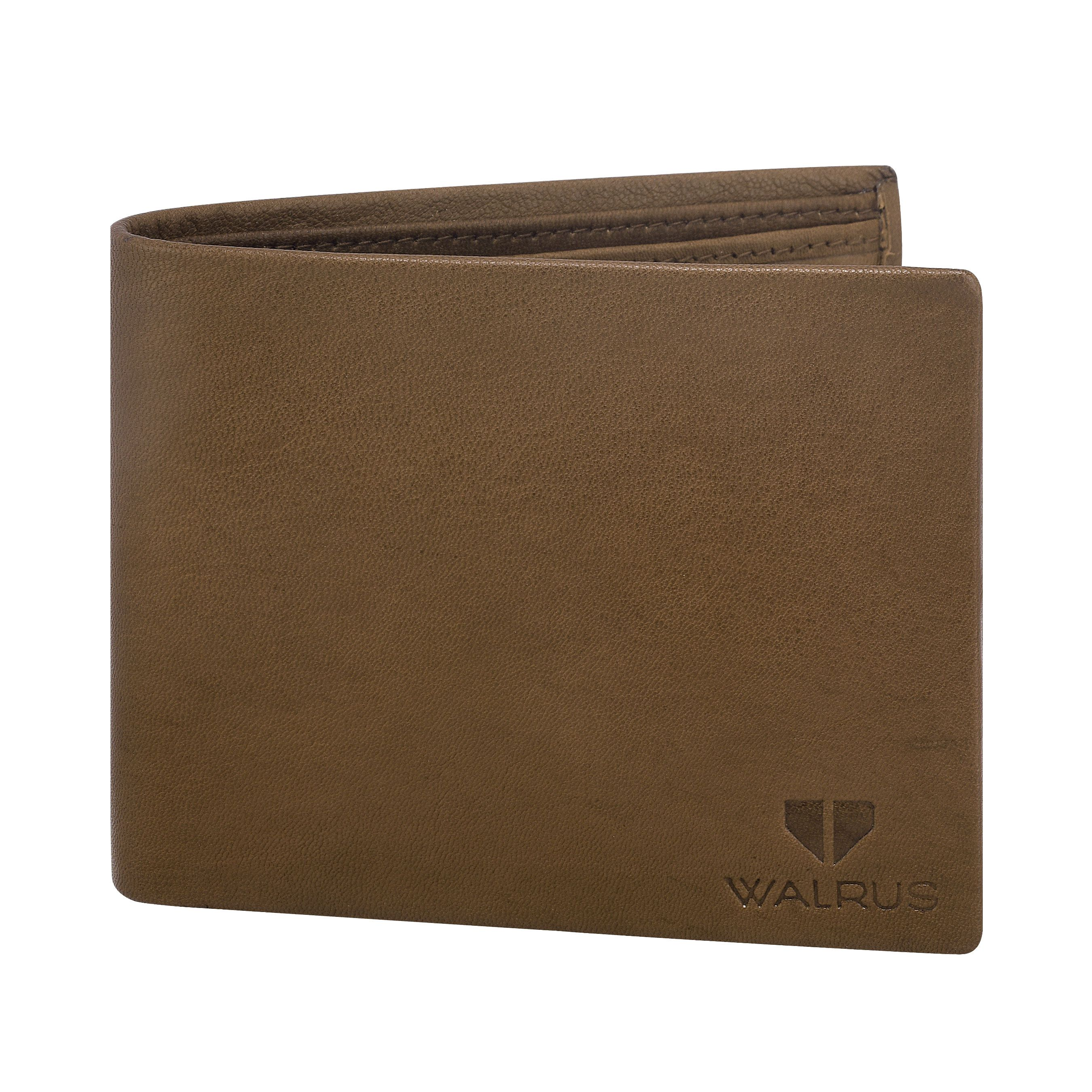 Walrus Imperial Brown Color Men Genuine Leather Wallet (WW-IMP-09)