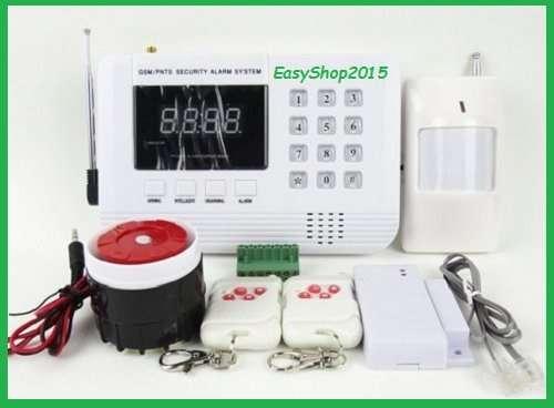 Kit allarme antifurto wireless senza fili siren con for Negozio con kit abitini