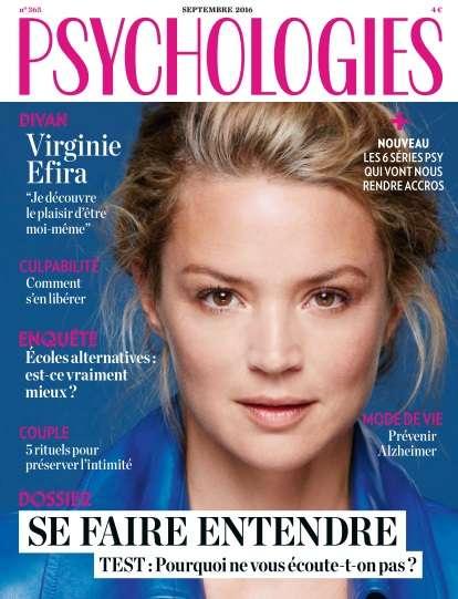 Psychologies France - Septembre 2016