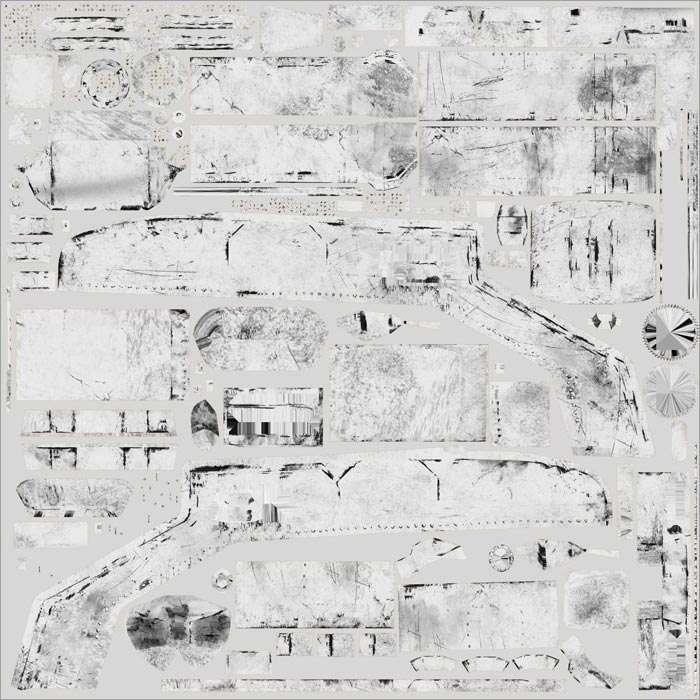 Body specular map