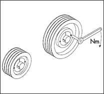 Wartości momentów dociągających śruby