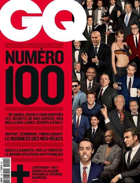GQ France 100 - Juillet 2016