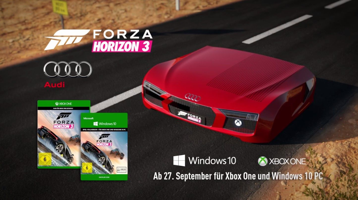 Microsoft подарит геймерам Xbox One Sвстиле Ауди R8
