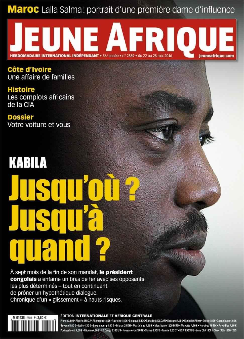 Jeune Afrique 2888 - 22 Mai 2016