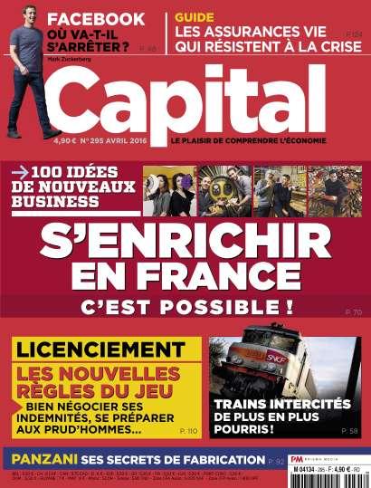 Capital - Avril 2016