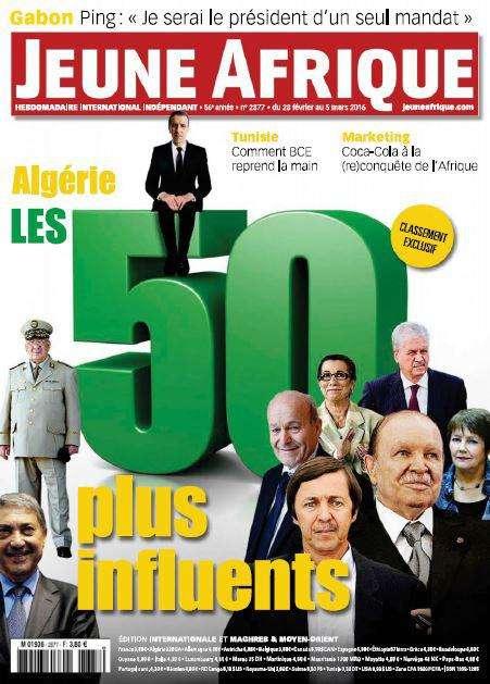 Jeune Afrique - 28 Fevrier au 5 Mars 2016