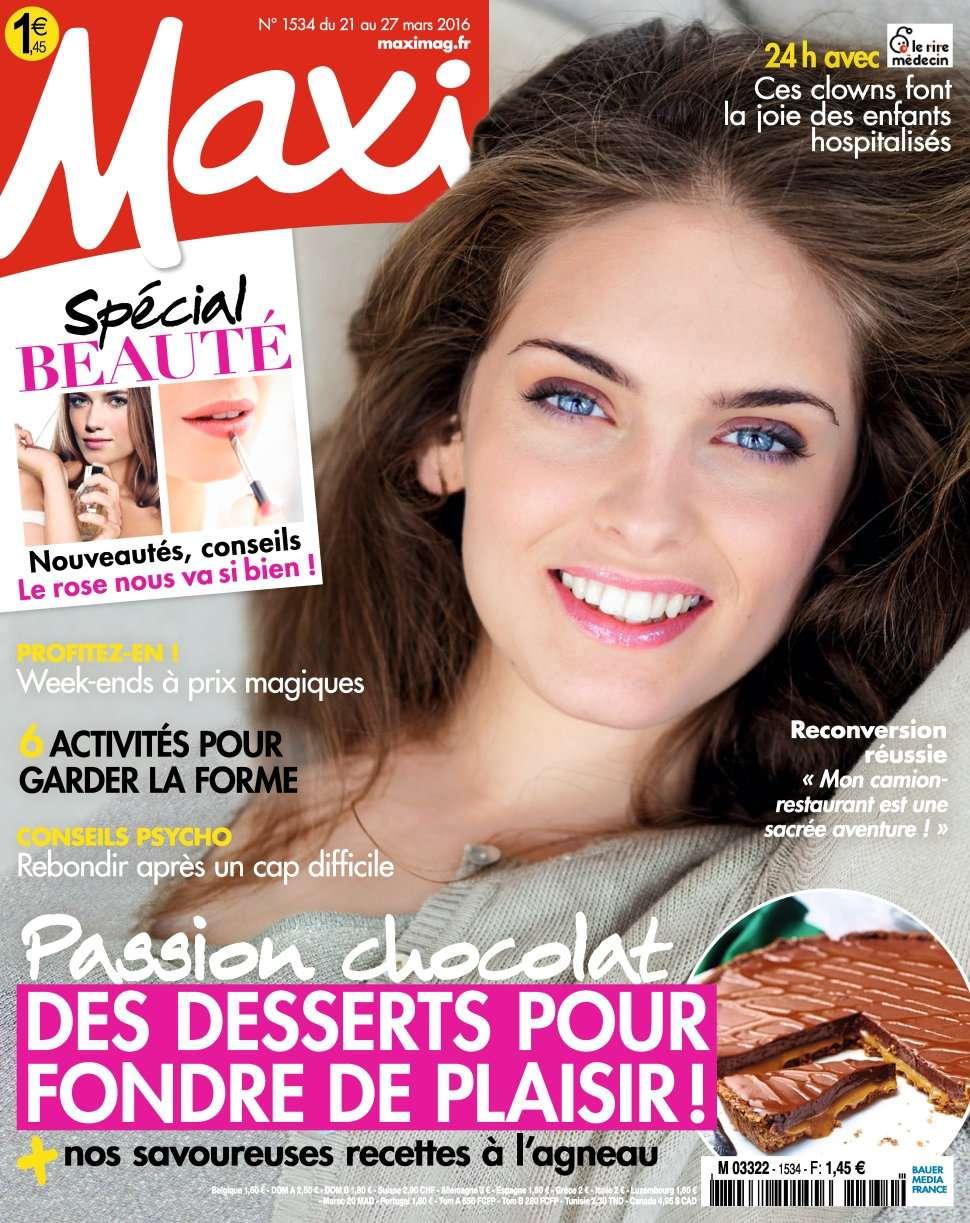 Maxi 1534 - 21 au 27 Mars 2016