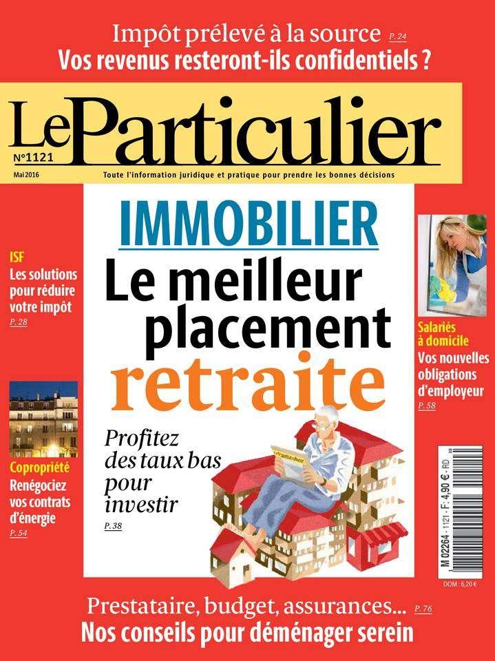 Le Particulier 1121 - Mai 2016