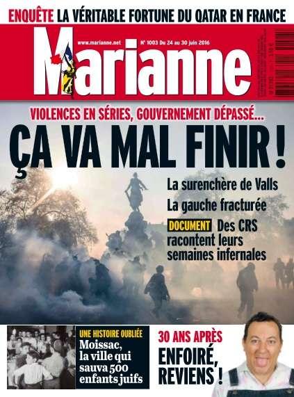 Marianne - 24 au 30 Juin 2016