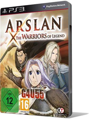 [PS3] ARSLAN: THE WARRIORS OF LEGEND (PSN)(2016) - JAP SUB ENG