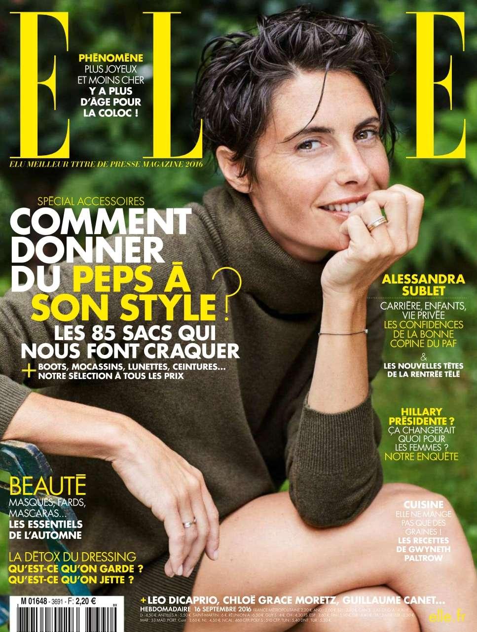 Elle France - 16 au 22 Septembre 2016