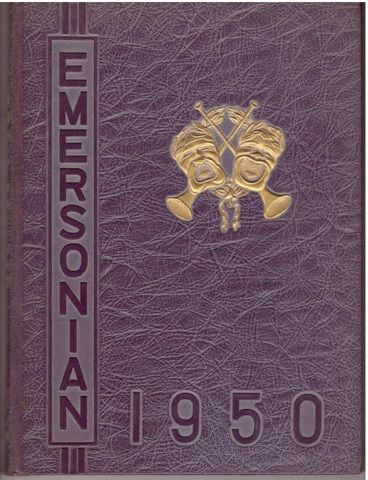 1950 Emerson College Yearbook Emersonian Boston, Staff