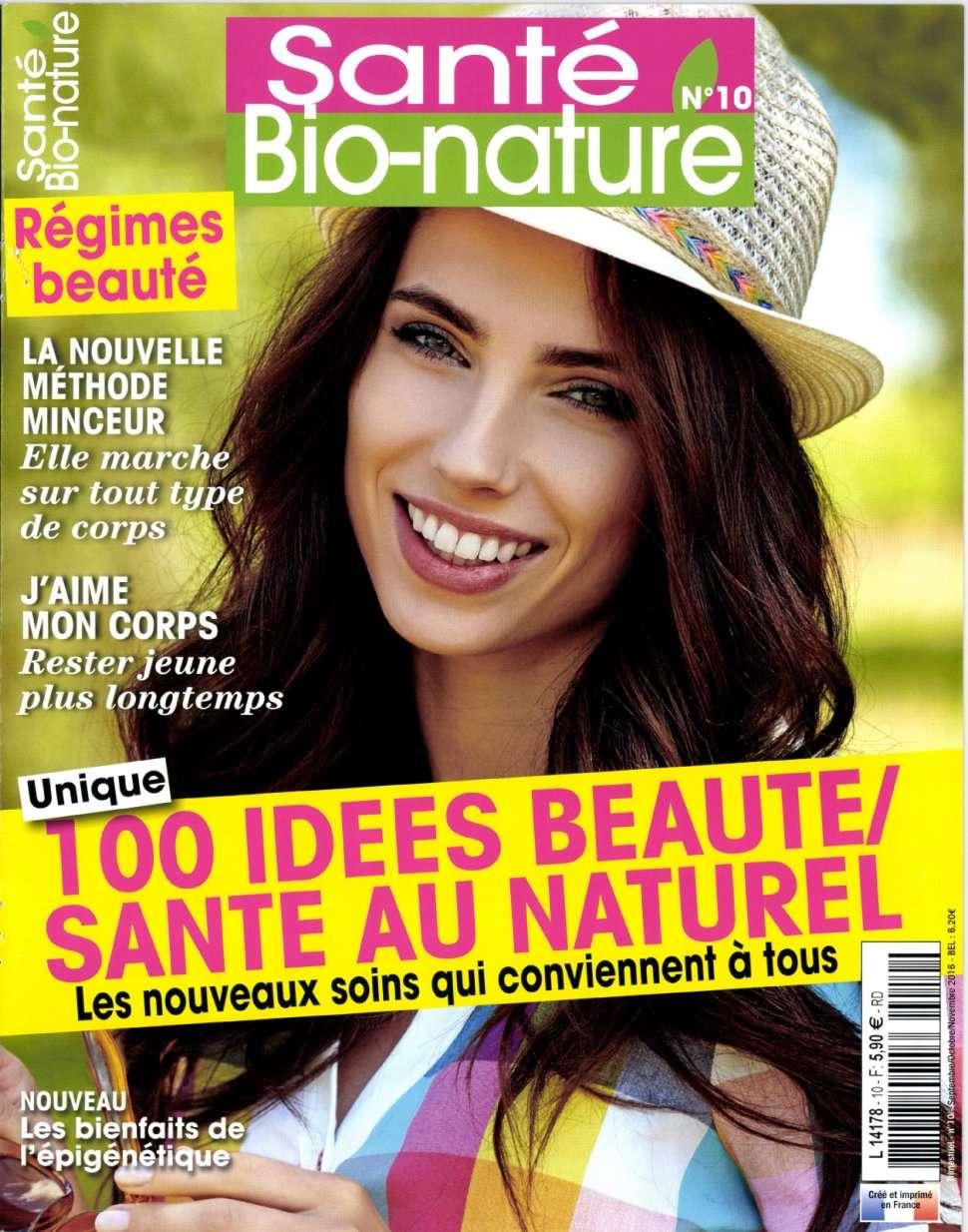 Santé Bio Nature 10 - Septembre/Novembre 2016