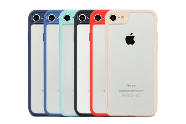 Sale giá sốc Ốp lưng dẻo iCil Carter lưng trong viền màu cực Hot cho iPhone 6, 6 Plus, 7, 7 Plus