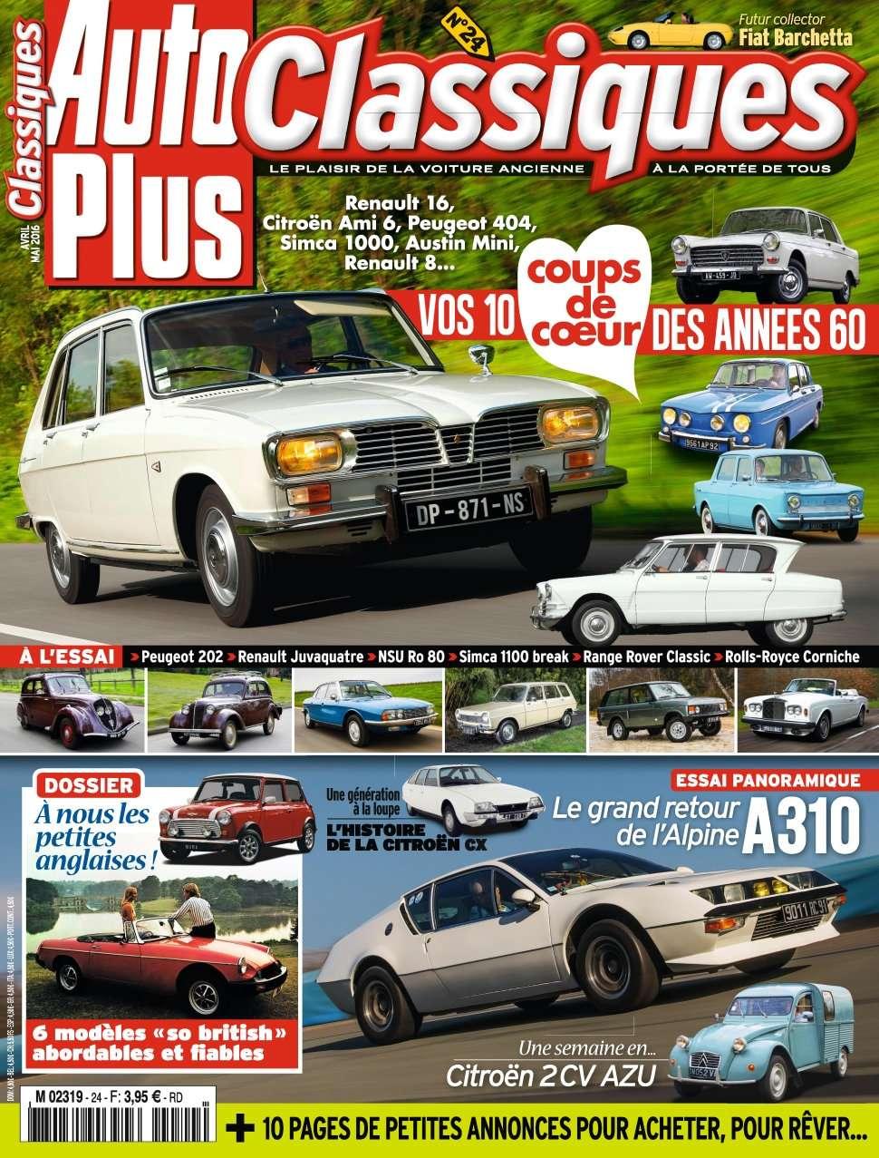 Auto Plus Classiques 24 - Avril/Mai 2016