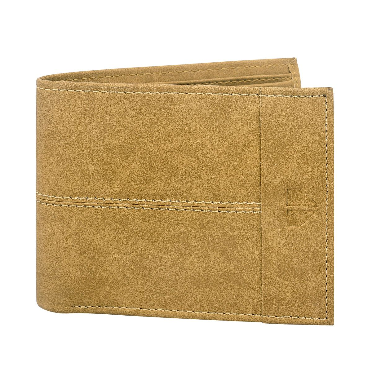 Walrus Invicta Beige Color Men Genuine Leather Wallet (WW-IVT-16)