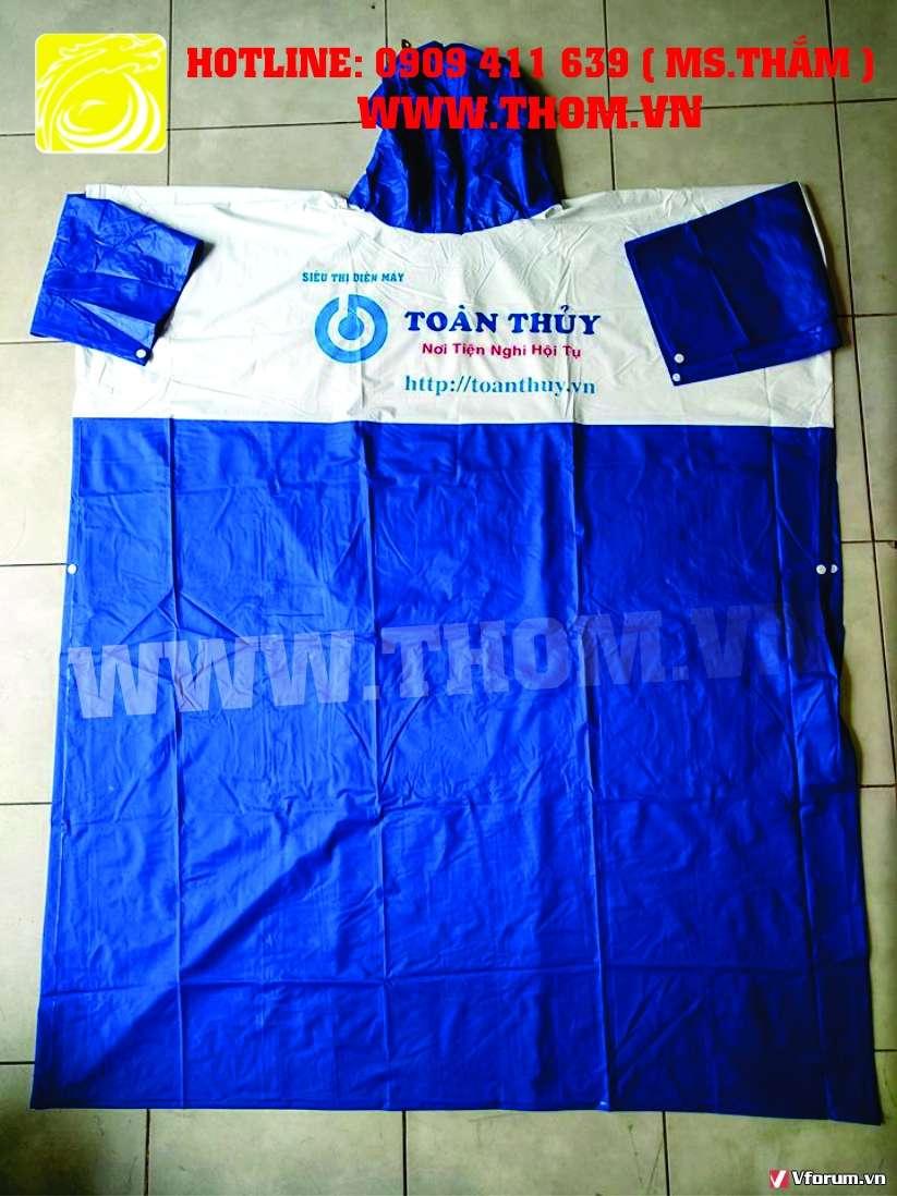 Cơ sở sản xuất áo mưa uy tín giá rẻ chất lượng tốt nhất TPHCM 0909411639