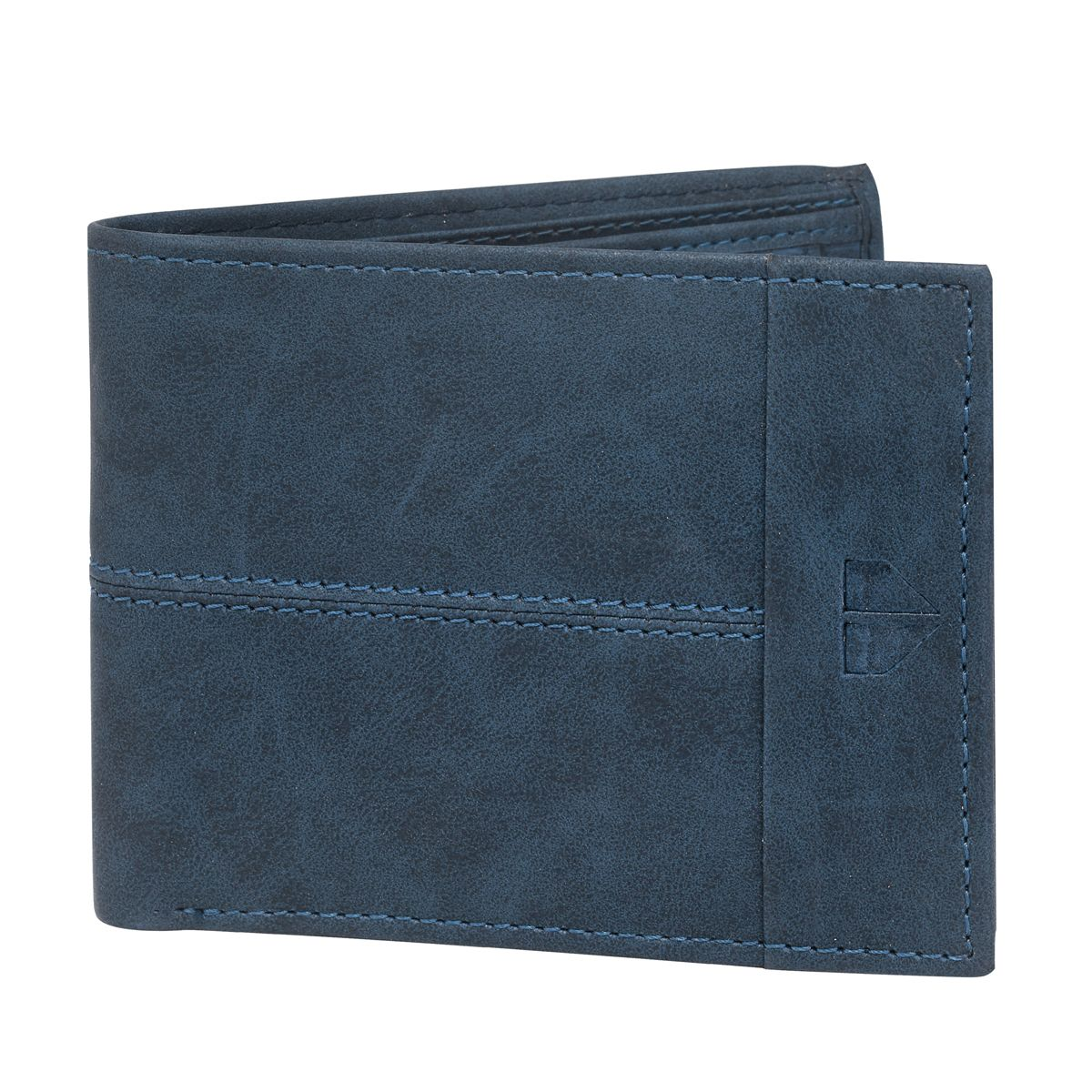 Walrus Invicta Blue Color Men Genuine Leather Wallet (WW-IVT-03)