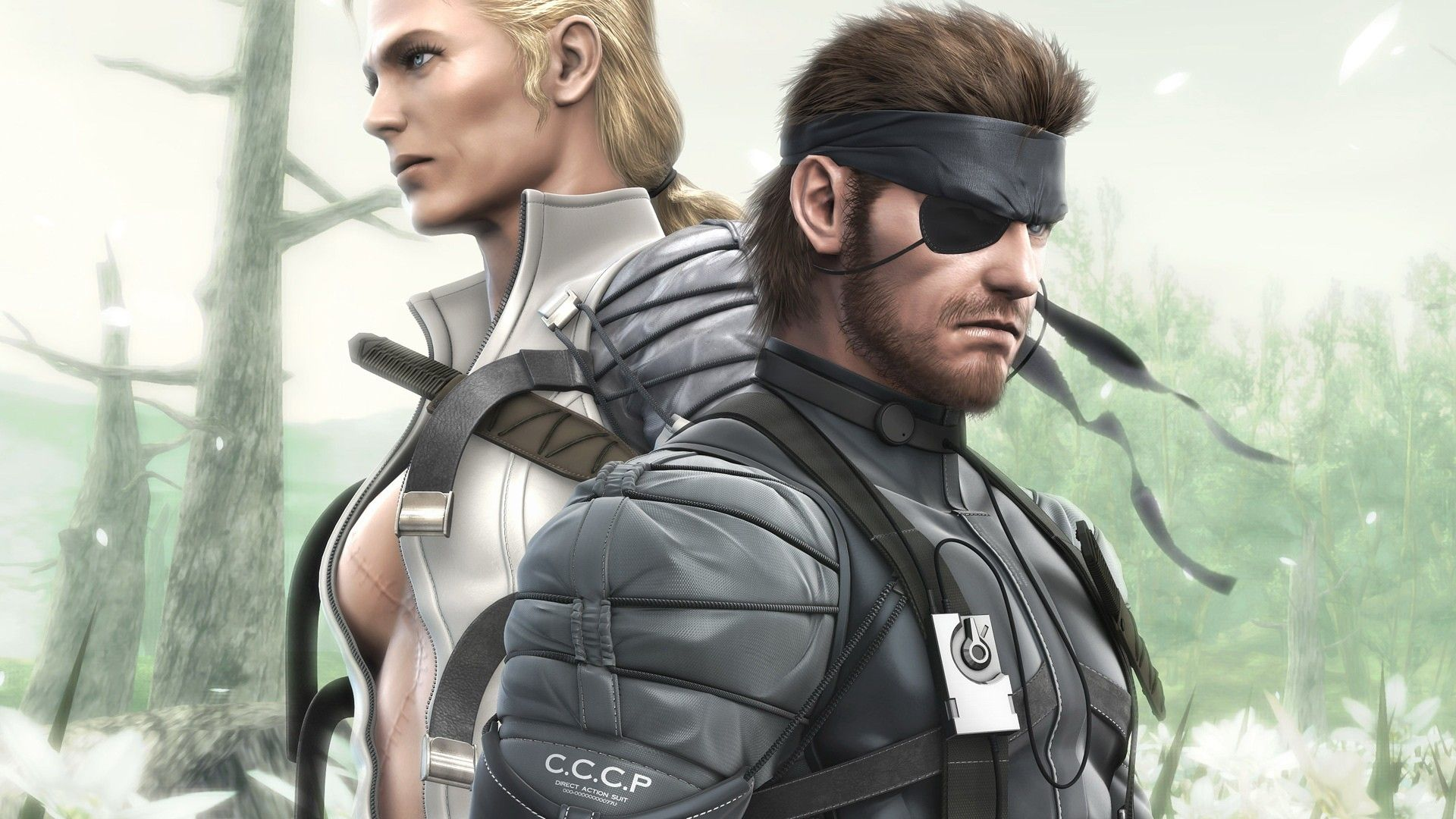 The Boss y Naked Snake