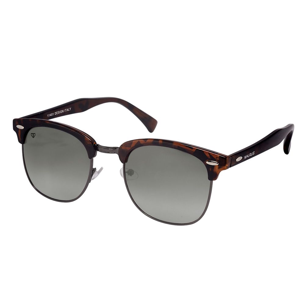 Walrus Michel Brown Color Unisex Wayfarer Sunglass - WS-MCHL-II-092602