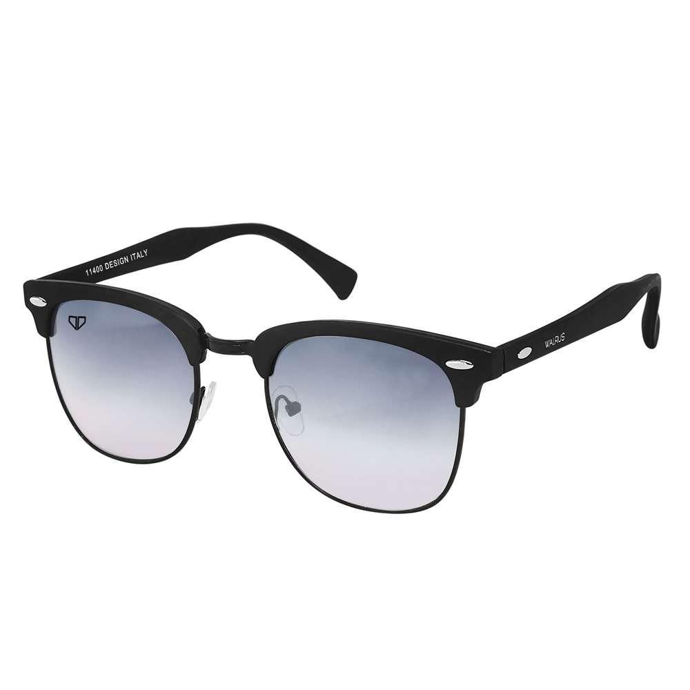Walrus Michel Black Color Unisex Wayfarer Sunglass - WS-MCHL-II-020202