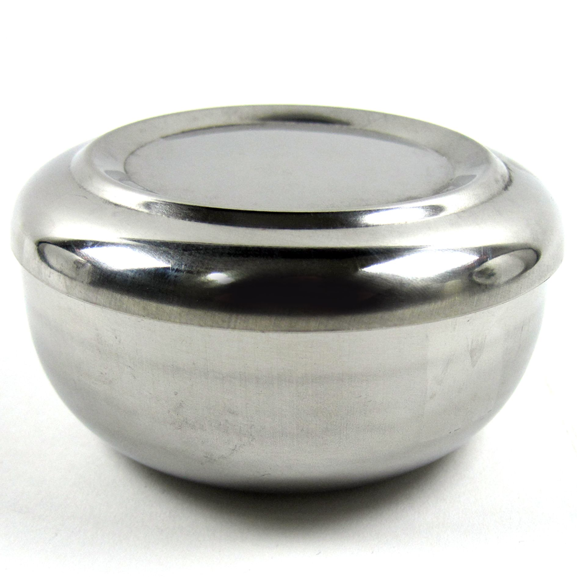 Korean Style Stainless Steel Rice Bowl With Cover