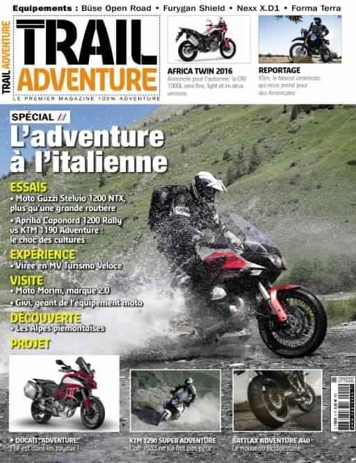 Trail Adventure 4 - Septembre-Octobre-Novembre 2015