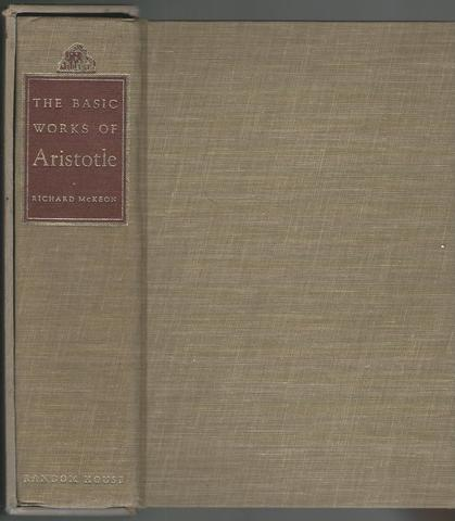 The Basic Works, with an intro. by R. McKeon, Aristotle, Ross, trs. R. McKeon